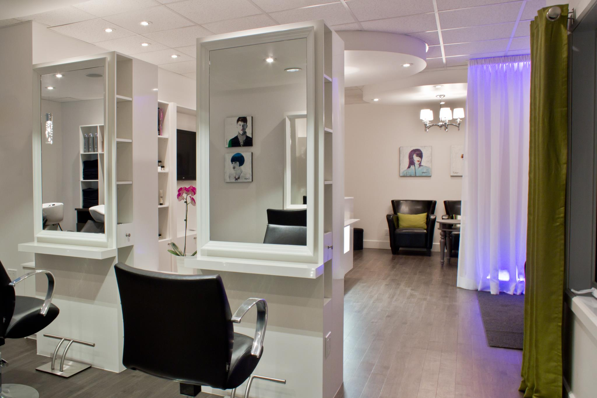 Best Salon Moderne Coiffeur Pictures - Awesome Interior Home ...