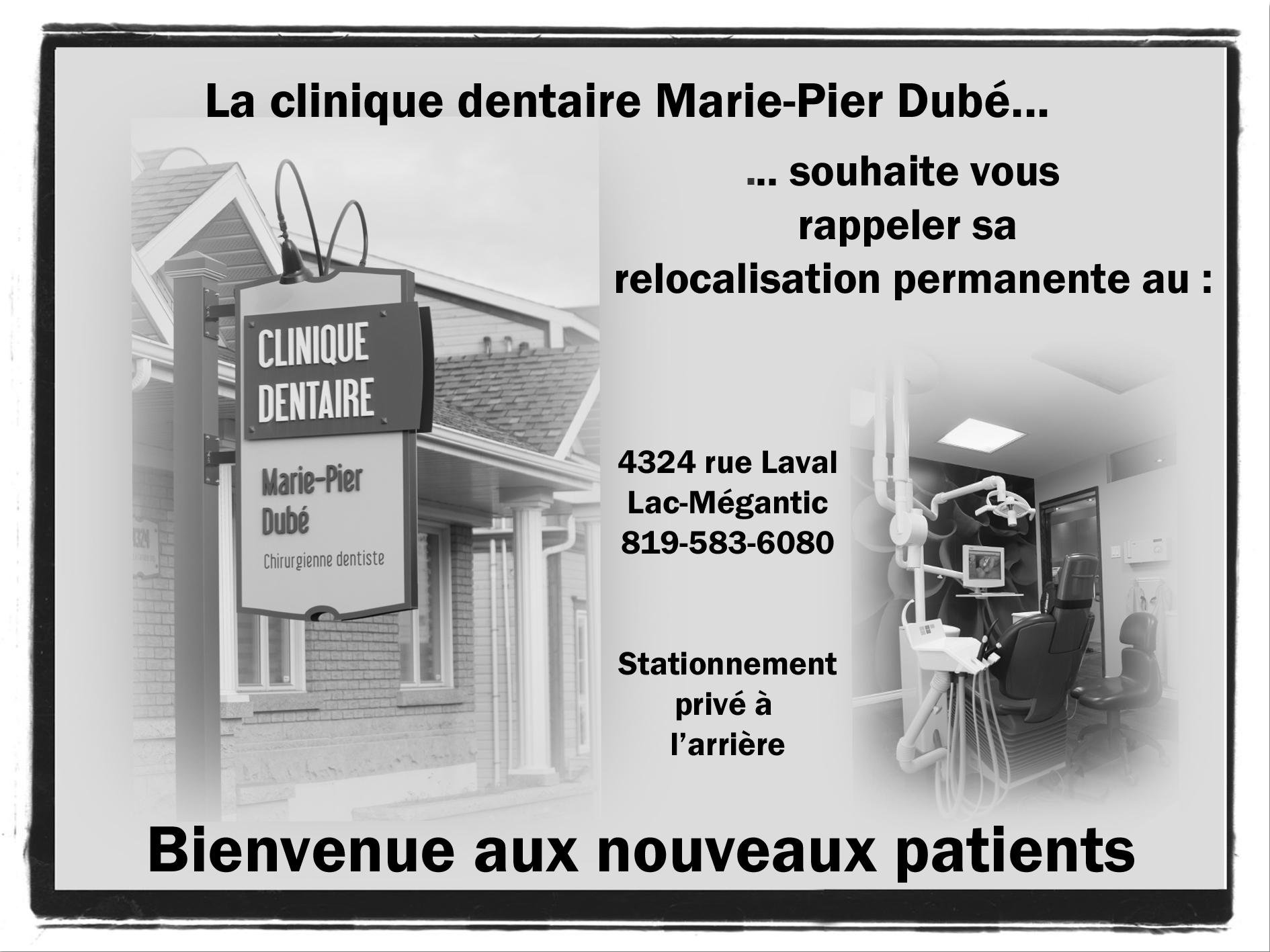 MARIE PIER DUBE Commerce Lac Megantic